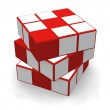 Cube puzzle — Stock Photo #4080862