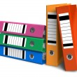 Foto Stock: Color folders