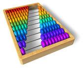 Rainbow abacus — Stock Photo