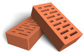 Construction bricks — Stock Photo