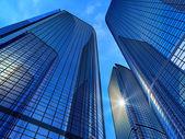 Moderne zakelijke gebouwen — Stockfoto