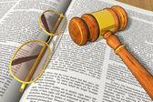 Legal/bidding concept — Stock Photo