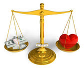 Love cannot be bought — Stock Photo