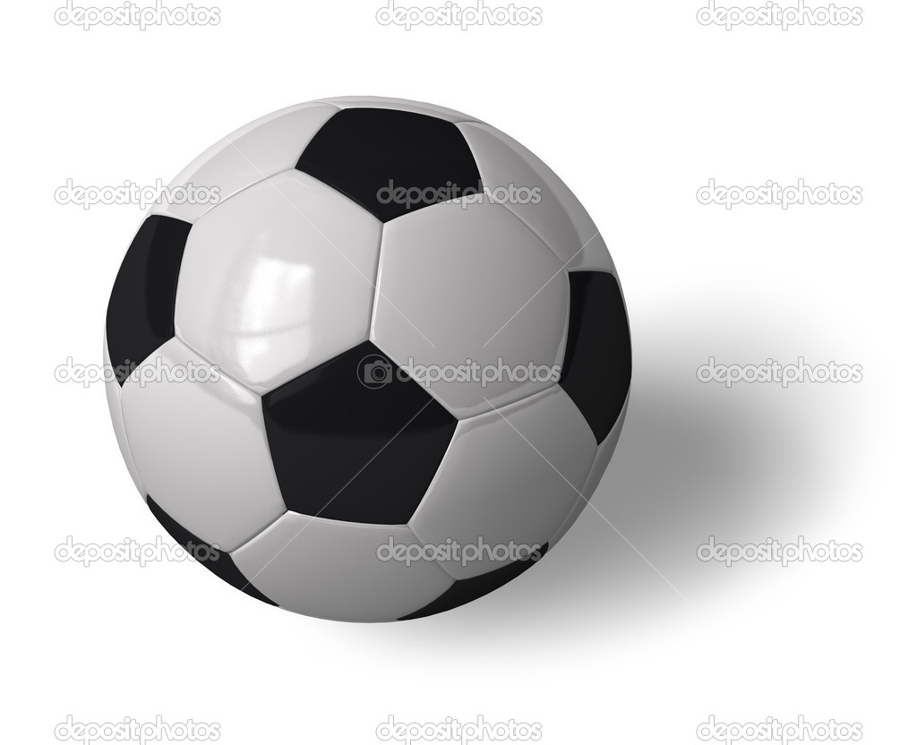 Soccer ball — Stock Photo #4080976