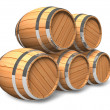 Stock Photo: Wine storage