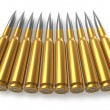 Bullets for sniper rifle — Stock Photo #4186168