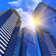 Modern business buildings - Foto Stock