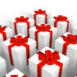 Set of gift boxes - Lizenzfreies Foto