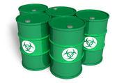Giftige fässer — Stockfoto