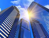 Edifícios comerciais modernos — Foto Stock