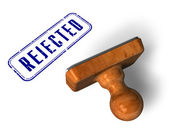 """Rejected"""" stamp — Stock Photo"""