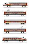 InterCity Express — Stock Photo