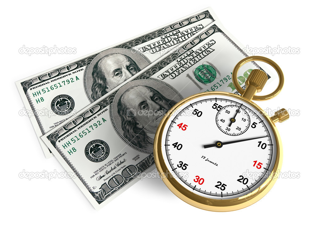 Time is money — Stock fotografie #4186517