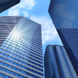 Stock Photo: Business buildings
