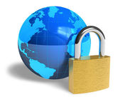Internet security concept — Stock Photo