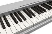 Synthesizer keyboard — Stock Photo