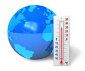 Global warming concept — Stock Photo