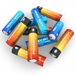 AA batteries — Stock Photo #4222270