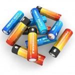 AA batteries — Stock Photo