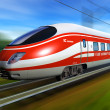InterCity Express - Stock Photo