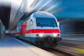 Modern high speed train — Foto de Stock