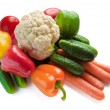Set of fresh vegetables — Stock Photo #4255408