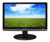 Widescreen TFT display — Stock Photo