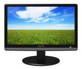 Widescreen TFT display — Stock Photo