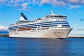 Büyük yolcu gemisi — Stok fotoğraf