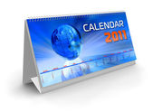 Desktop calendar 2011 — Stock Photo