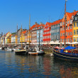 Copenhagen, Nyhavn - Foto Stock