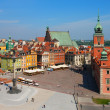 Stock Photo: Castle Square, Warsaw, Poland
