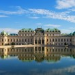 Summer palace Belvedere in Vienna — Stock Photo
