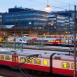 Central railway station in Helsinki, Finland — Stock Photo