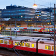 Central railway station in Helsinki, Finland - Stockfoto