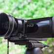 High definition camcorder — Foto Stock
