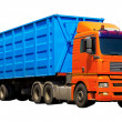 Stock Photo: Container truck