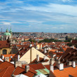 Panorama of Prague, Czech Republic - Stockfoto