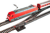 Miniature train — 图库照片