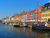Copenhague, nyhavn — Foto de Stock