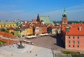 Castle Square, Warsaw, Poland — Stock Photo