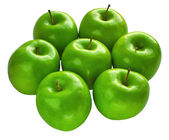 Fresh Granny Smith apples — Stock Photo
