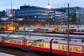 Centrální nádraží v helsinki, Finsko — Stock fotografie