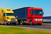 Freight transportation — Stock Photo
