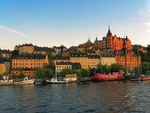 Stockholm, the Old Town — 图库照片
