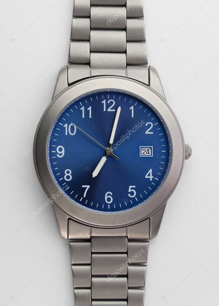 Titanium watch  Stock Photo #4286424