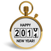 New Year 2011 congratulation — Stock Photo