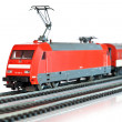Stock Photo: Miniature train