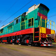High speed diesel train — Stock Photo #4319403