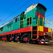 Stock Photo: High speed diesel train